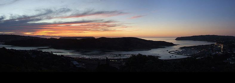 Porirua at night