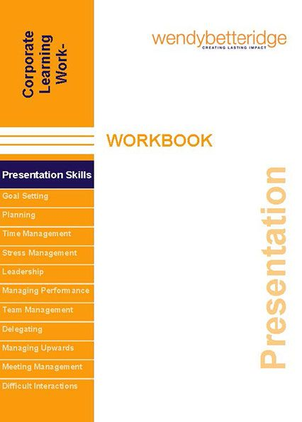 Presentation Skills workbook cover